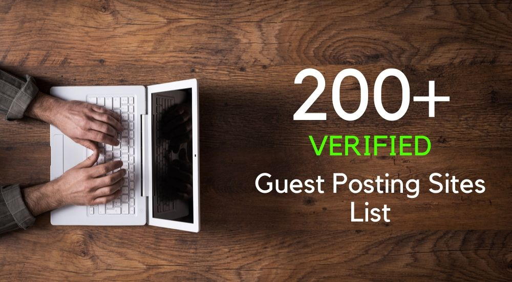 list of top Guest Posting Sites